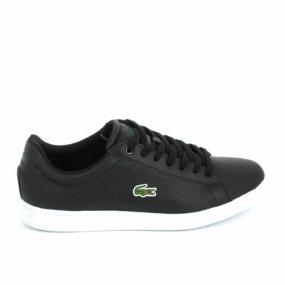 Lacoste CARNABY EVO LCR BASKETS BASSES NOIR Chaussure France_v10721