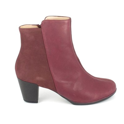Tbs KATELYN BOTTINES ROUGE Chaussure France_v13126
