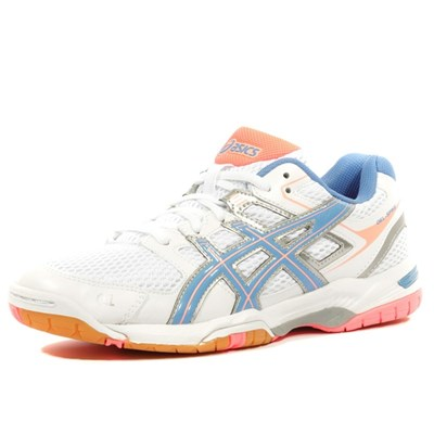 Asics GEL SPIKE 2 CHAUSSURES VOLLEYBALL BLANC Chaussure France_v3679