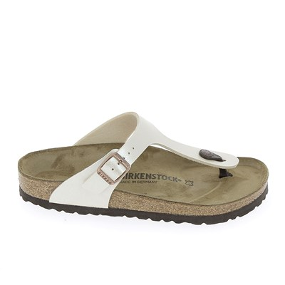 Birkenstock GIZEH TONGS BLANC Chaussure France_v9678