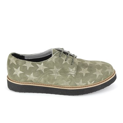 Ippon Vintage DERBIES VERT Chaussure France_v9253