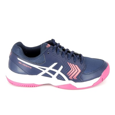 Asics DEDICATE 5 CLAY CHAUSSURES SPORT BLEU MARINE Chaussure France_v6814
