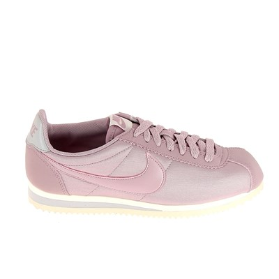 Nike CORTEZ NYLON BASKETS BASSES ROSE