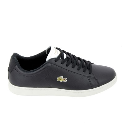 Lacoste CARNABY EVO 317 BASKETS BASSES NOIR Chaussure France_v11258