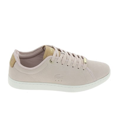 Lacoste CARNABY EVO BASKETS BASSES ROSE Chaussure France_v11260
