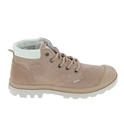 Palladium LOW CUF PAMPA LO BASKETS BASSES ROSE Chaussure France_v8607