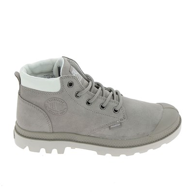 Palladium LOW CUF PAMPA LO BASKETS BASSES GRIS Chaussure France_v8606