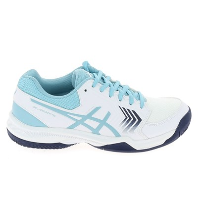 Asics DEDICATE CLAY CHAUSSURES TENNIS BLANC Chaussure France_v6815