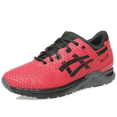 Asics GEL LYTE CHAUSSURES ROUGE Chaussure France_v7847