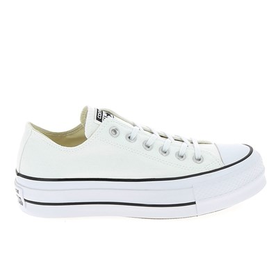 Converse ALL STAR BASKETS BASSES BLANC Chaussure France_v11038