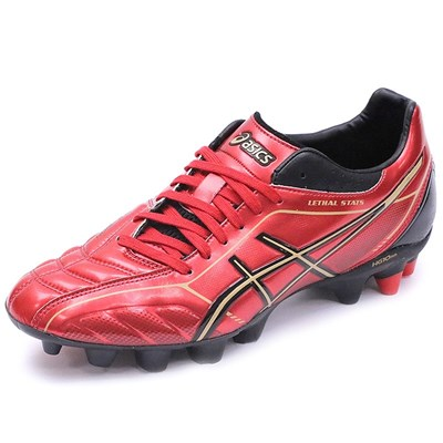 Asics LETHAL SHOT STATS 2 SK CHAUSSURES RUGBY ROUGE