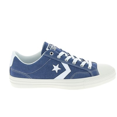 Converse STAR PLAYER BASKETS BASSES BLEU Chaussure France_v9697