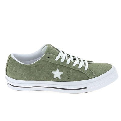 Converse ONE STAR BASKETS BASSES VERT