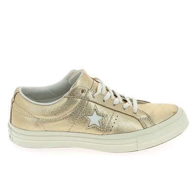 Chaussures Femme | Converse ONE STAR BASKETS BASSES DORÉ