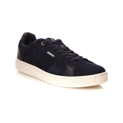 Jack & Jones JFWOLLY SNEAKERS AUS LEDER MARINEBLAU