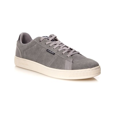 Jack & Jones JFWOLLY SNEAKERS AUS LEDER SILBERFARBEN
