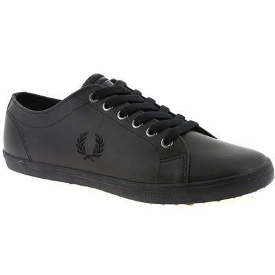 Fred Perry BASKETS BASSES NOIR