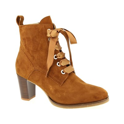 Rose Metal BOOTS COGNAC
