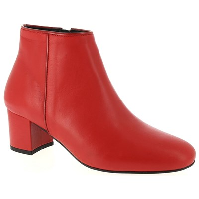 Chaussures Femme | MARION TOUFET BOOTS ROUGE