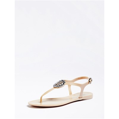 Guess JACODE NU-PIEDS NATUREL Chaussure France_v3587