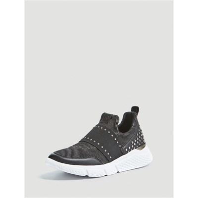 Guess NAMASTIA SNEAKERS CLOUTÉS NOIR Chaussure France_v9165