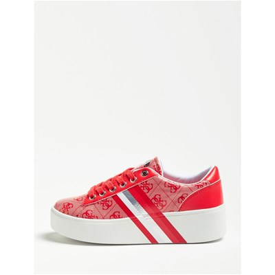 Guess Sneakers 3162933 Rouge Talli Caoutchouc r4q5gT4wc