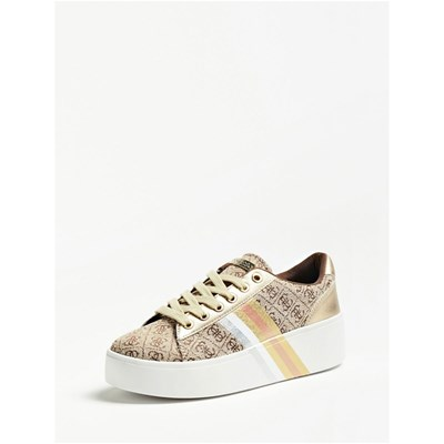Guess TALLI SNEAKERS BEIGE Chaussure France_v8018