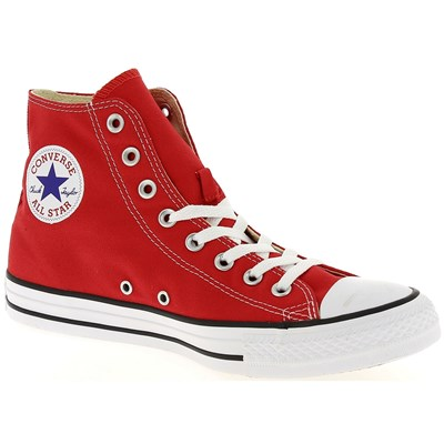 Converse CHUCK TAYLOR ALL STAR BASKETS MONTANTES ROUGE Chaussure France_v10324