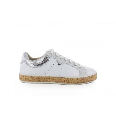 Chaussures Femme | Manas BASKETS BASSES BLANC