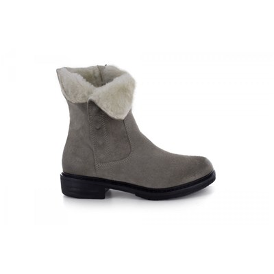 Manas BOTTINES GRIS Chaussure France_v9900