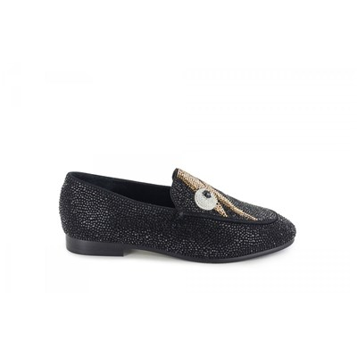 Lola Cruz MOCASSINS NOIR Chaussure France_v12492