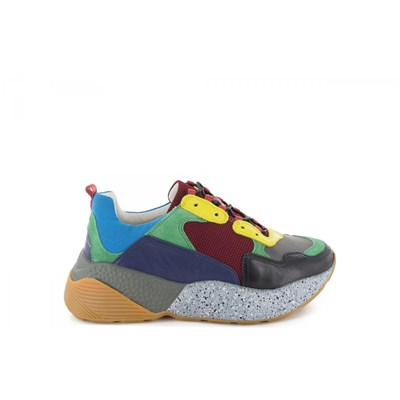 Lola Cruz BASKETS BASSES MULTICOLORE