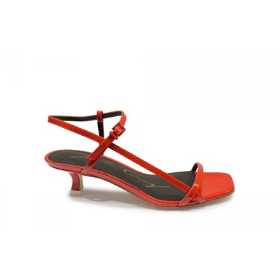 Lola Cruz SANDALES ORANGE Chaussure France_v12900