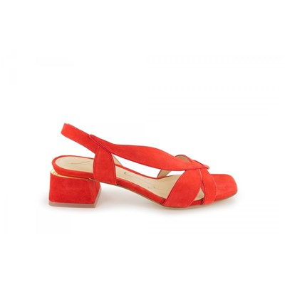 Lola Cruz SANDALES ORANGE Chaussure France_v14995