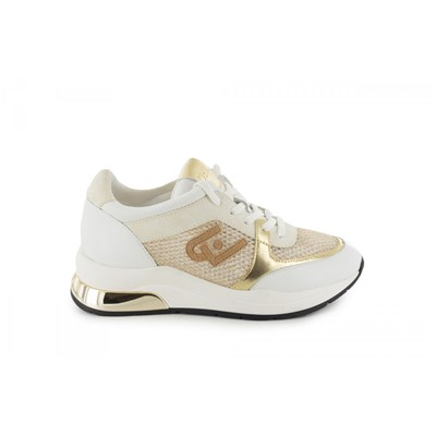Liu Jo KARLIE BASKETS BASSES BLANC Chaussure France_v11404