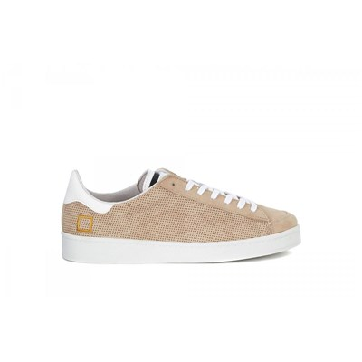 D.a.t.e. BASKETS BASSES BEIGE Chaussure France_v11390