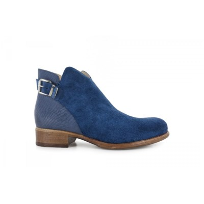 Manas BOTTINES BLEU Chaussure France_v9895