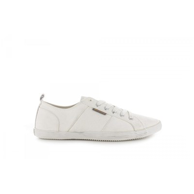 Ben Sherman BASKETS BASSES BLANC