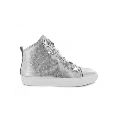 Katy Perry BASKETS BASSES ARGENT
