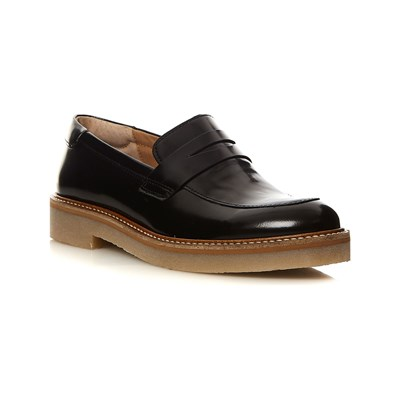 Kickers OXMOX MOCASSINI IN PELLE NERO