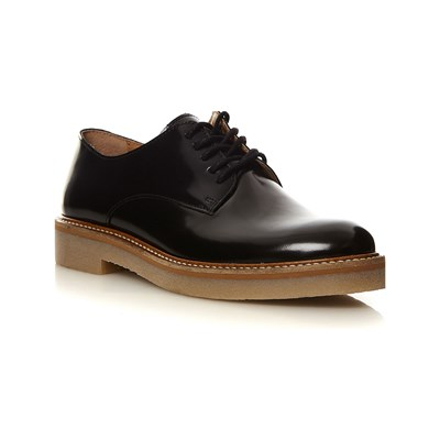 Kickers OXFORK DERBIES EN CUIR NOIR