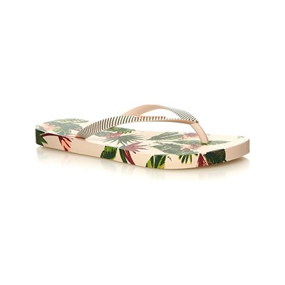 Ipanema I LOVE TROPICAL TONGS BEIGE Chaussure France_v1566