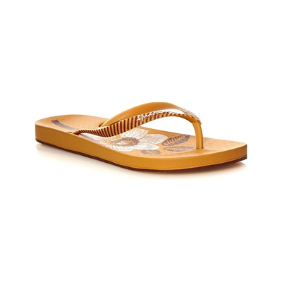 Ipanema ANAT NATURE III TONGS JAUNE Chaussure France_v1193