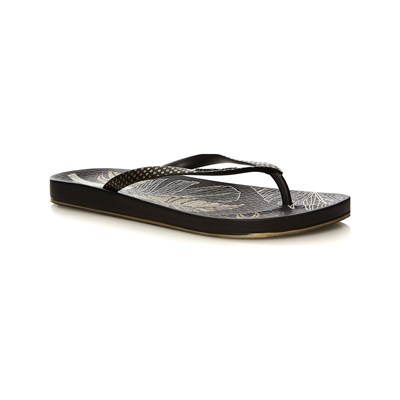 Ipanema ANAT NATURE III TONGS NOIR Chaussure France_v1195