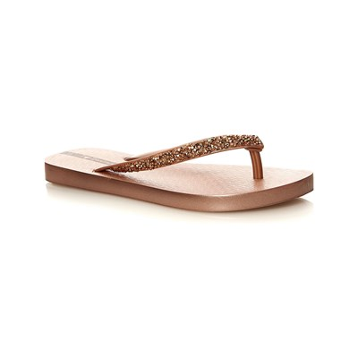 Ipanema GLAM SPECIAL TONGS MARRON Chaussure France_v2737