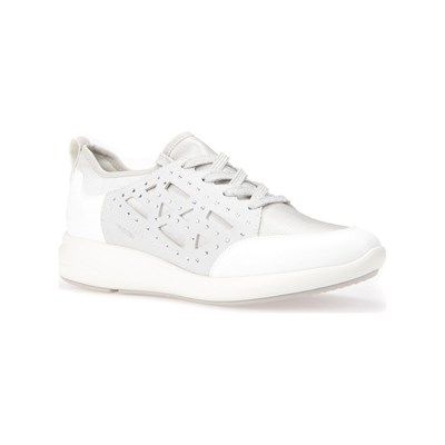Geox OPHIRA LOW SNEAKERS WEISS