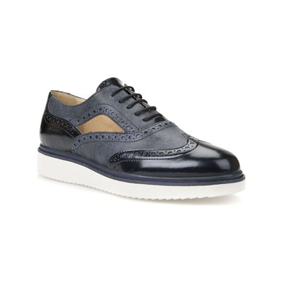 Geox THYMAR DERBIES MARINEBLAU
