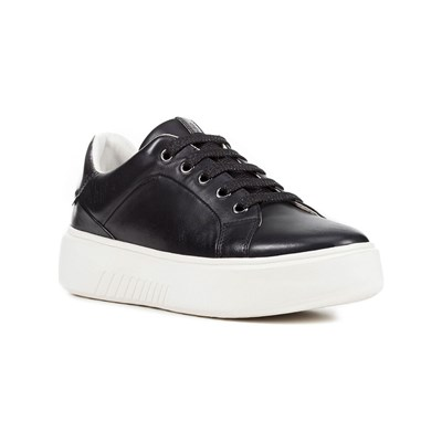 Geox NHENBUS LOW SNEAKERS SCHWARZ