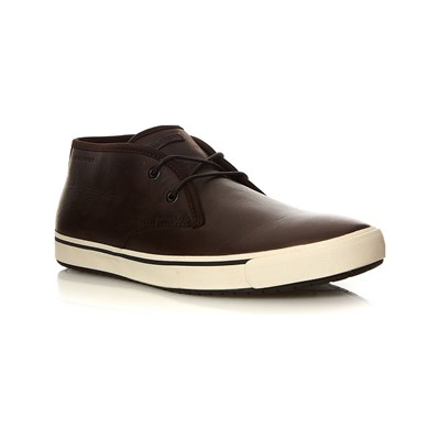 Rockport TENNIS EN CUIR MARRON Chaussure France_v11023