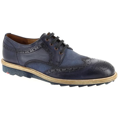 Llyod DERBIES BLEU MARINE